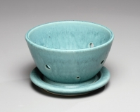 Berry bowl, Laura's Turquoise -- 3.5x6x6