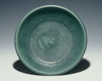 Serving Bowl, Green Glaze 2.25 x 10.75 x 10.75